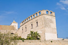 St. Scolastica Church. Bari. Puglia. Italy. Royalty Free Stock Photography