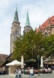 St Sebaldus - Norimberga immagini stock
