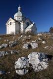 St. Sebastian bedevaartkerk Royalty-vrije Stock Fotografie
