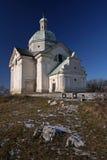 St. Sebastian bedevaartkerk Royalty-vrije Stock Afbeeldingen