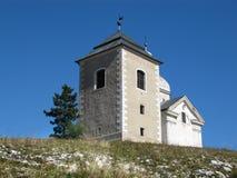 St. Sebastian Chapel on the Holy Hill, Mikulov Royalty Free Stock Photo