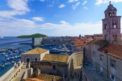 St. Sebastian Church, Dubrovnik Stock Photo