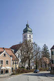 St. Sebastian in Ebersberg Lizenzfreie Stockfotos