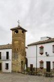 St Sebastian Minaret, Ronda, España imagen de archivo
