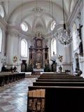 St Sebastian ` s kościół Salzburg zdjęcie stock