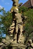 St Sebastian statue in Bamberg, Germany Stock Photo