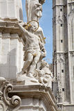 St. Sebastien - Trinity column in Budapest Royalty Free Stock Images