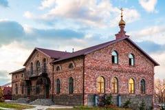 St Seraphim Monastery para homens na ilha de Russky fotografia de stock royalty free