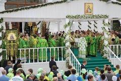 Εορτασμός της 700ης επετείου των γενεθλίων του ST Serg Στοκ Εικόνα