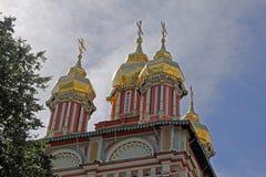 St sergius kopuły zdjęcie royalty free