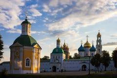 St Sergius Lavra da trindade santamente Fotos de Stock Royalty Free