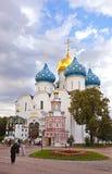 St Sergius Lavra för helig Treenighet Arkivfoton