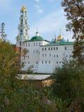 St Sergius Lavra för helig Treenighet Arkivfoto