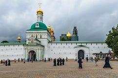 St. Sergius Lavra, región de Moscú, Rusia de la trinidad santa. Fotos de archivo libres de regalías