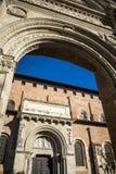St Sernin大教堂在图卢兹 库存图片