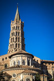 St. Sernin Basilica in Toulouse France Royalty Free Stock Photography