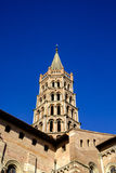 St. Sernin Basilica in Toulouse Stock Images