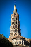 St. Sernin Basilica in Toulouse Royalty Free Stock Photography
