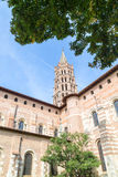 St Sernin Church Royalty Free Stock Photography