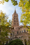 St Sernin Church Stock Photography