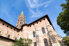 St Sernin Church Royalty Free Stock Photo