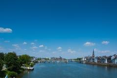 St. Servaas桥梁在马斯特里赫特 免版税库存照片