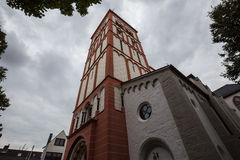 St. Servatius church siegburg germany. The St. Servatius church siegburg germany Stock Photos
