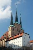 St Severus教会,埃福特,德国 库存照片