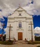 St. Sigismund of Burgundy Church in Kleszczele Royalty Free Stock Photos