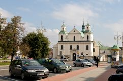 St Sigismund Church in Czestochowa  - Poland Royalty Free Stock Photography