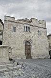St. Silvestro Church. Bevagna. Umbria. Royalty Free Stock Photos