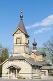 St. Simeon en de Kerk van Hanna van Profeten. Stock Foto