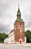 St Simon Church en Valmiera latvia foto de archivo libre de regalías