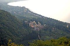 St. Simon gorliwiec w Nowym Athos Obraz Stock