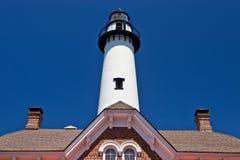 St. Simon Light House Imágenes de archivo libres de regalías