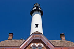 St. Simon Light House Royalty Free Stock Images