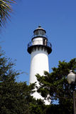 St. Simon Lighthouse Royalty Free Stock Photos