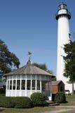 st simons маяка острова Стоковая Фотография RF