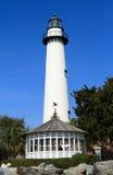 st simons маяка острова Стоковое фото RF