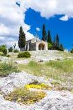 St Sixte de la capilla cerca de Eygalieres Fotos de archivo