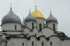 St Sofia Cathedral - Cremlino di Novgorod fotografia stock