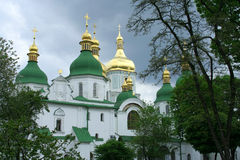 St. Sofia Kathedraal stock foto's