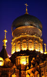 St Sofia Russian Orthodox Church Harbin China Royalty Free Stock Photo