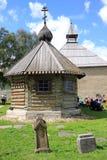 St德米特里Solunsky教会在Staraya拉多加在俄罗斯 免版税库存图片