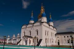 St Sophia-Assumption Cathedral in Tobolsk Kremlin. Siberia. Russ. Ia Royalty Free Stock Images