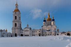 St. Sophia-Assumption Cathedral in Tobolsk, Russia Royalty Free Stock Photography