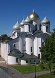 St. Sophia Cathedral. Novgorod the Great, Russia Royalty Free Stock Photos