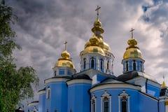 St Sophia Cathedral do interior da entrada principal fotos de stock royalty free
