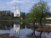 St Sophia Cathedral em Polotsk Imagem de Stock
