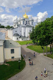 St. Sophia Cathedral from height Stock Photography